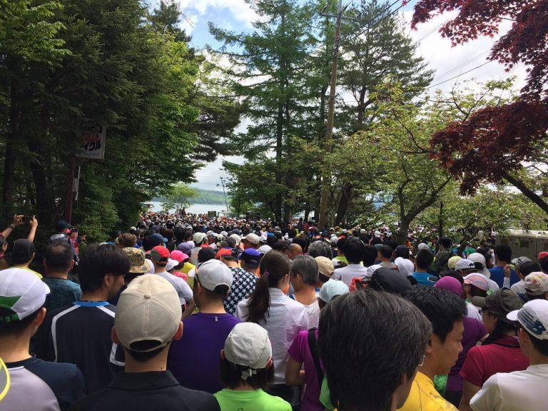山中湖ロードレース参加